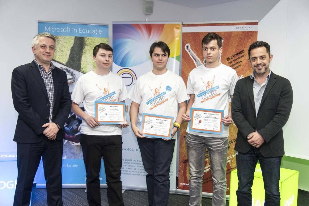 Castigatori din Romania ai concursului Microsoft Office Specialist 2016