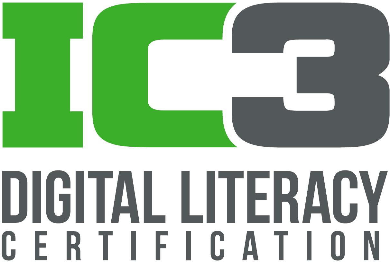 IC3 Digital Literacy Certification Logo